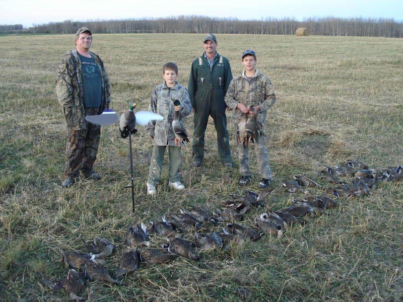 waterfowl hunting alberta