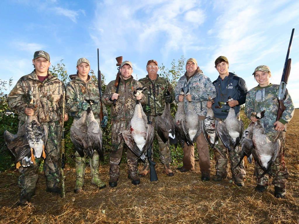 goose hunting alberta canada