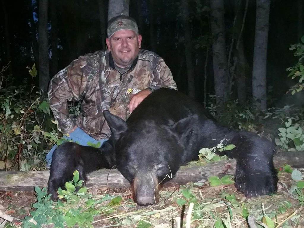 black bear hunting Big Stone Outfitting
