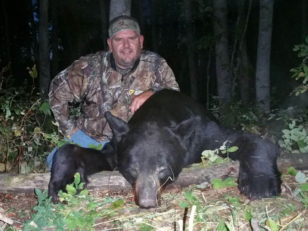 black bear hunting Big Stone Outfitting